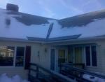 Ice Melt Placed Over Door